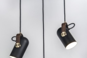 CARRONADE pendants black three